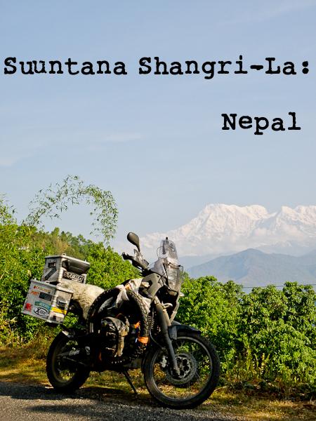 Moottoripyörällä Nepaliin