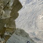 Karakorumin maisemat ovat isoja