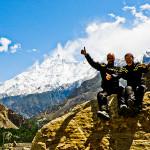 Rakaposhi, 7788 metriä, on maailman 27. korkein vuori