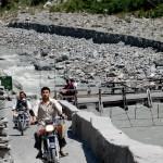 Hurja riippusilta Gilgitissä